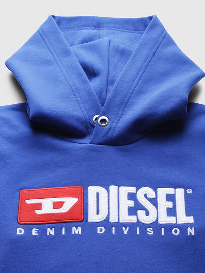 Diesel - SDIVISION OVER, Cerulean - Sweaters - Image 3