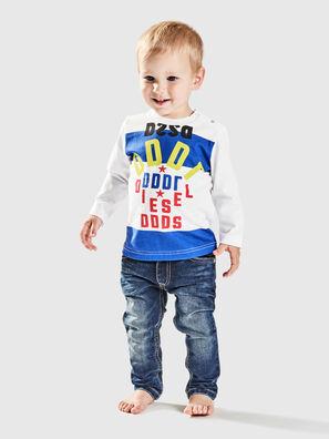 TOLIB, White/Blue - T-shirts and Tops