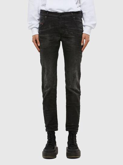Diesel - KRAILEY JoggJeans® 069QL, Black/Dark grey - Jeans - Image 1