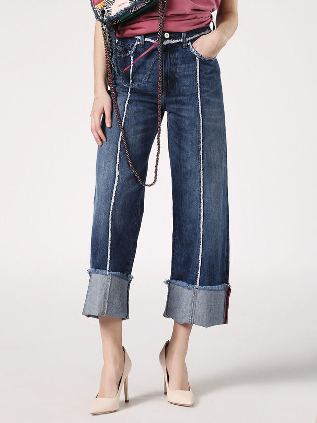 WIDEE-F 084TE, Blue Jeans