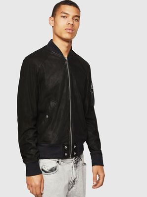 L-NIKOLAI, Black - Leather jackets