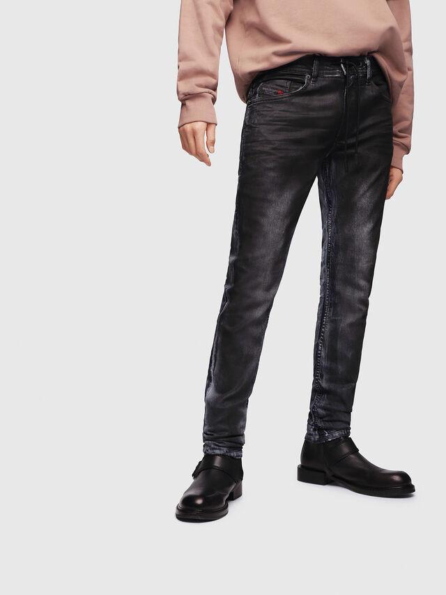 Diesel - Thommer JoggJeans 086AZ, Dark Blue - Jeans - Image 1