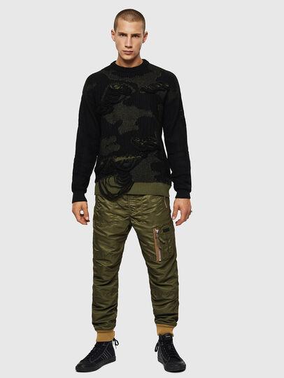 Diesel - K-MUSCHIO, Black - Knitwear - Image 6