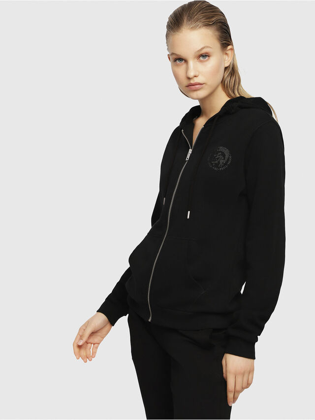 Diesel - UFLT-BRANDAL, Black - Sweaters - Image 1