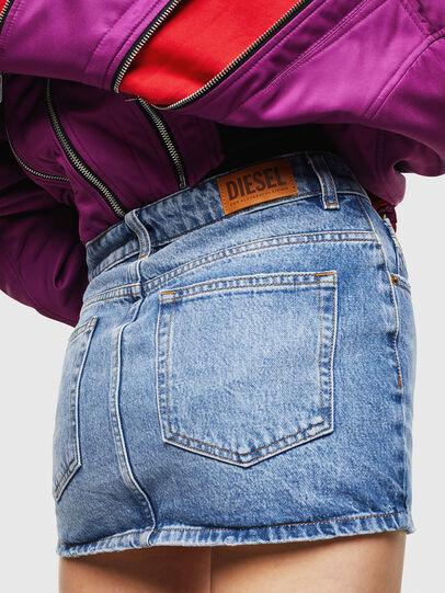 Diesel - DE-EISY, Medium blue - Skirts - Image 2