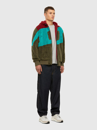 Diesel - S-ALDY, Olive Green - Sweaters - Image 7