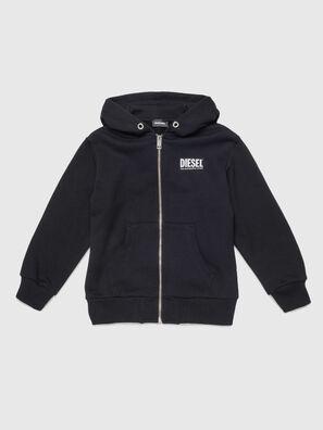 SGIRKHOODZIP-LOGO OV, Black - Sweaters