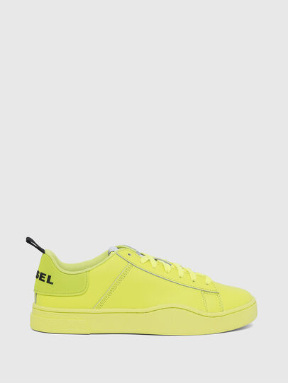 Diesel - S-CLEVER LOW LACE W, Yellow Fluo - Sneakers - Image 1