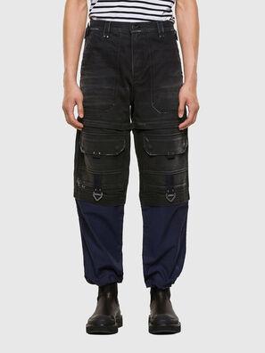 D-Multy 009KX, Black/Blue - Jeans