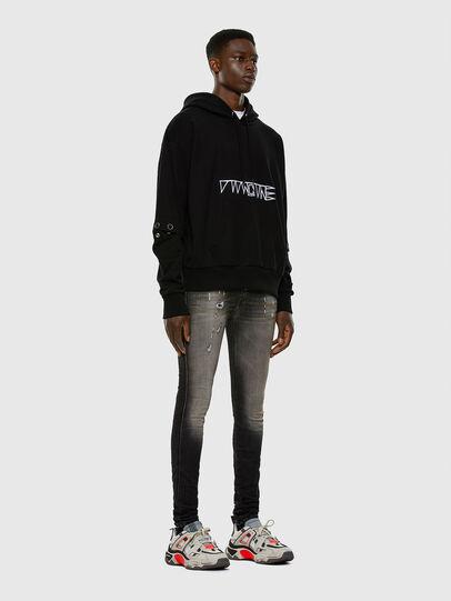 Diesel - D-Reeft JoggJeans 009FX, Black/Dark grey - Jeans - Image 4
