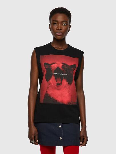 Diesel - T-PUNKYERN, Black - T-Shirts - Image 1