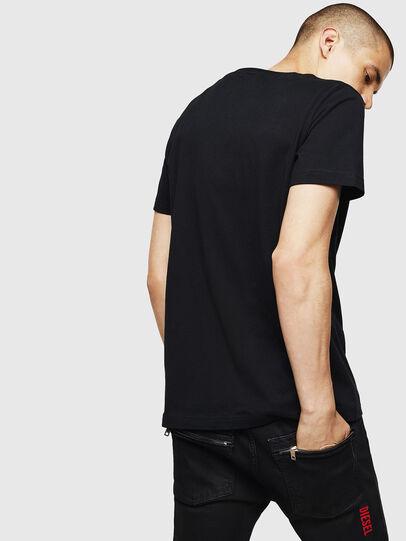 Diesel - T-DIEGO-B6, Black - T-Shirts - Image 2