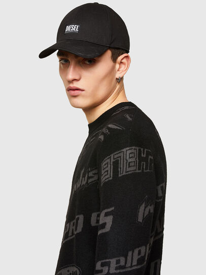 Diesel - K-NICKEL, Black - Knitwear - Image 3