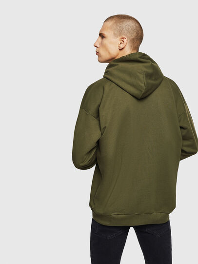 Diesel - S-DIVISION-D, Military Green - Sweaters - Image 2