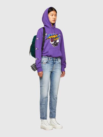 Diesel - CL-S-GIRK-HOOD-O1, Violet - Sweaters - Image 8
