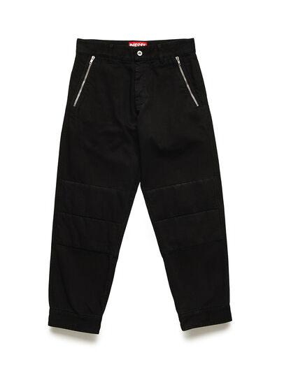 Diesel - GR02-P301, Black - Pants - Image 1