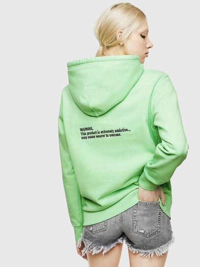 Diesel - S-GIRK-HOOD-FLUO, Green Fluo - Sweaters - Image 4