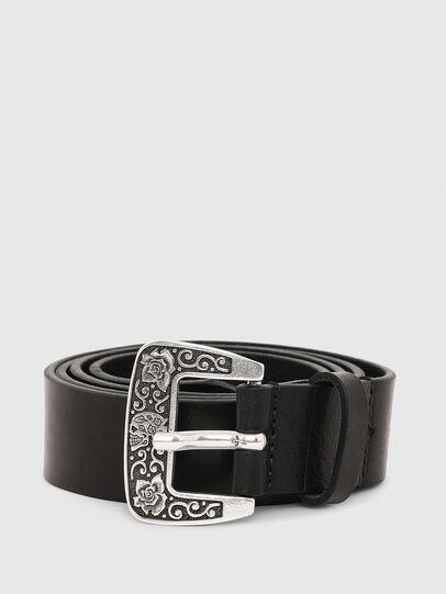 Diesel - B-MEXY, Black - Belts - Image 1