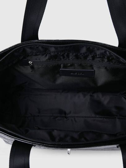 Diesel - F-BOLD SHOPPER III, Black - Shopping and Shoulder Bags - Image 4