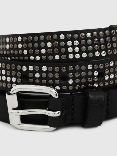Diesel - B-MINISTUD, Black - Belts - Image 2