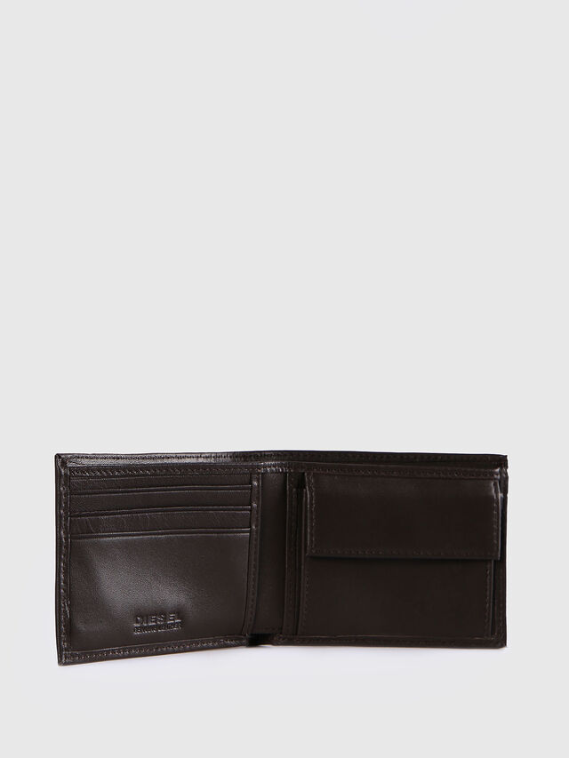 Diesel HIRESH XS, Dark Brown - Small Wallets - Image 3
