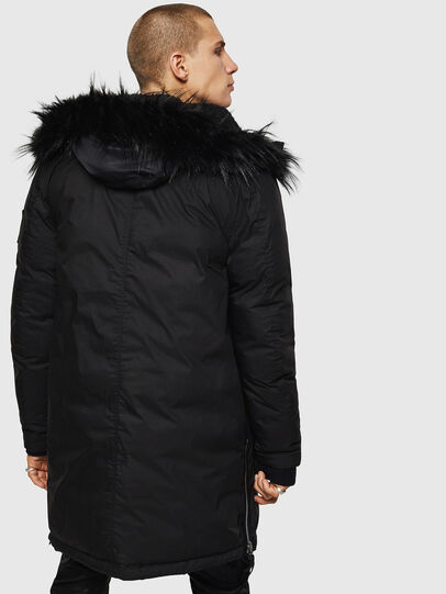 Diesel - W-BULLISK, Black - Winter Jackets - Image 2