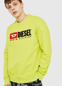 S-CREW-DIVISION, Yellow Fluo