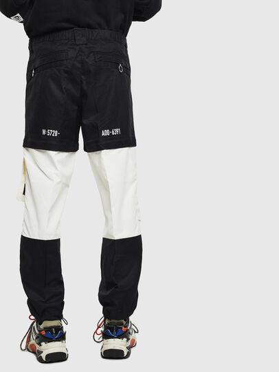 Diesel - P-MELTY, Black/White - Pants - Image 2
