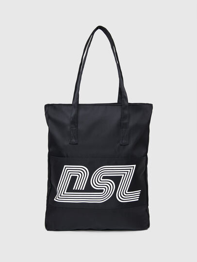 Diesel - BBAG-TOTE, Black - Beachwear accessories - Image 2