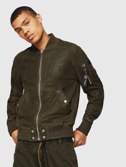 Diesel - L-NIKOLAI,  - Leather jackets - Image 1