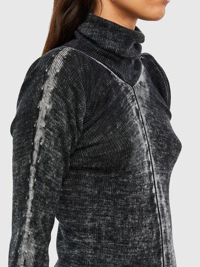 Diesel - M-ISABELLE, Black - Knitwear - Image 3