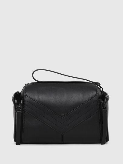 Diesel - LE-ZIPPER CROSSBODY, Black - Crossbody Bags - Image 2