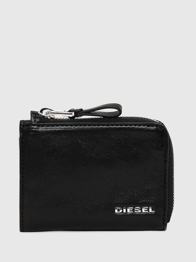 Diesel - L-PASSME, Black - Small Wallets - Image 1
