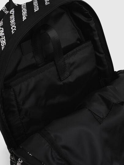 Diesel - MIRANO, Black/White - Backpacks - Image 5
