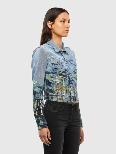 Diesel - DE-LIMMY-SX, Light Blue - Denim Jackets - Image 3