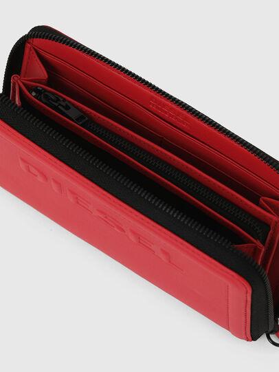 Diesel - GRANATO LC, Fire Red - Zip-Round Wallets - Image 4