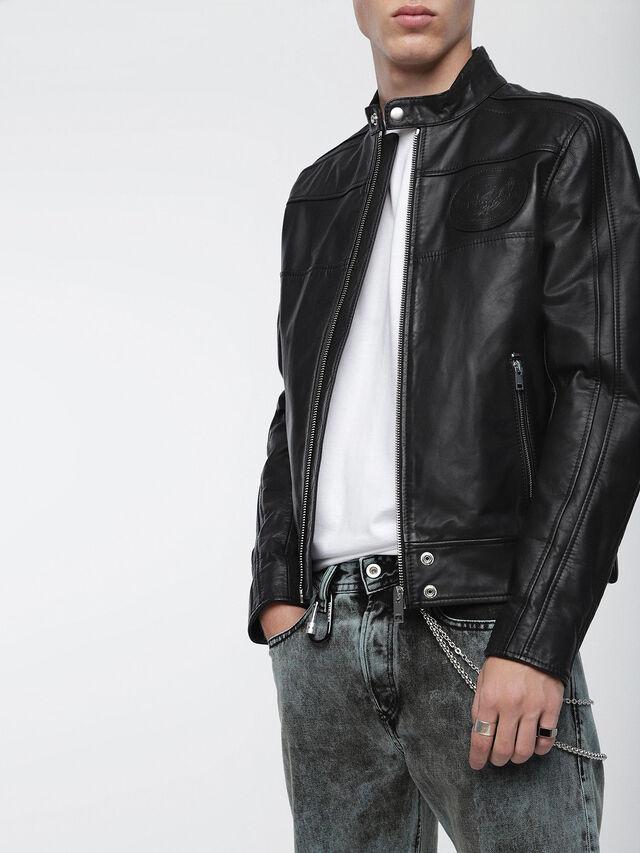 L-STREET, Black Leather