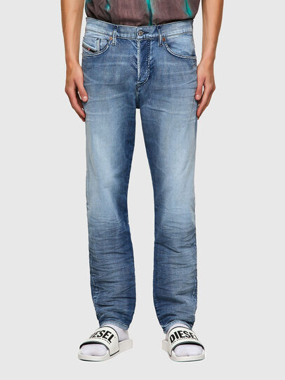 Diesel - D-Fining 009NS, Light Blue - Jeans - Image 1