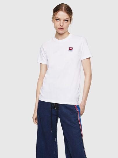 Diesel - T-SILY-ZE, White - T-Shirts - Image 1
