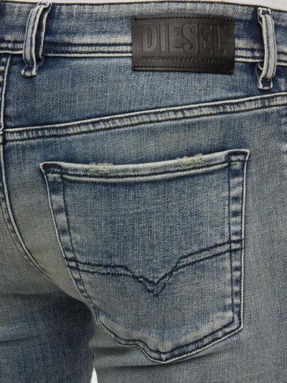 Diesel - Sleenker 009KL, Medium blue - Jeans - Image 4
