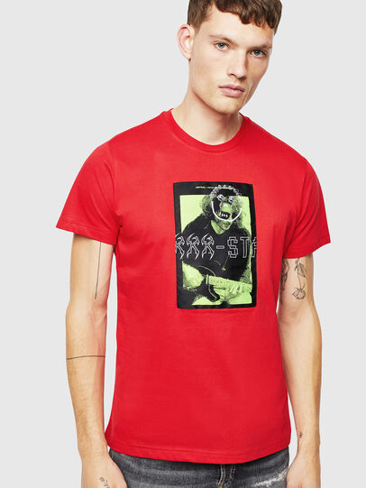 Diesel - T-DIEGO-J1, Red - T-Shirts - Image 1
