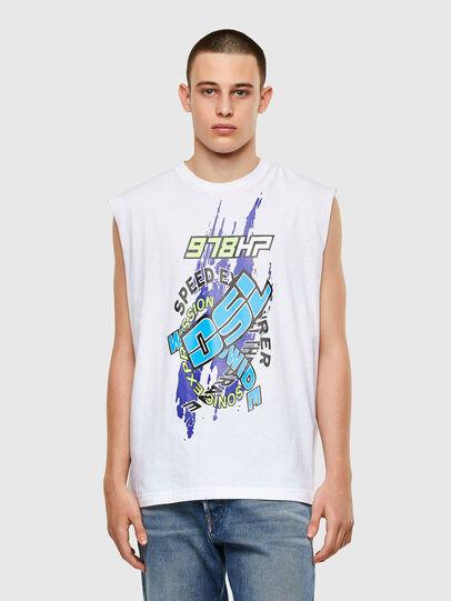 Diesel - T-OP, White - T-Shirts - Image 1