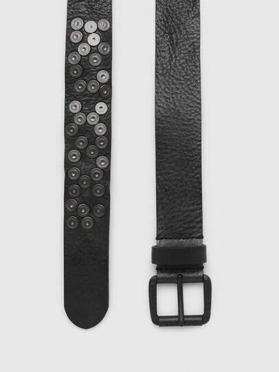 Diesel - B-UNDERSTUD, Black - Belts - Image 3