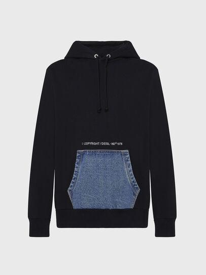 Diesel - S-THOS, Black - Sweaters - Image 1
