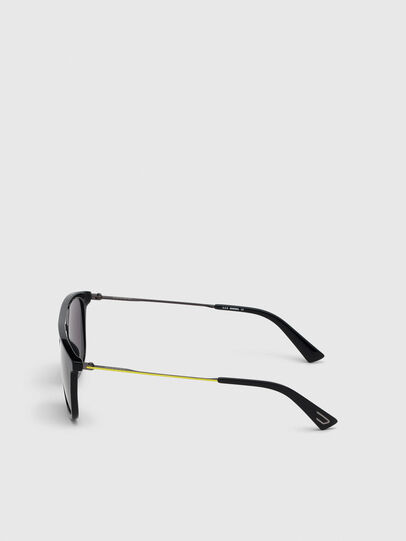 Diesel - DL0297, Black/Yellow - Sunglasses - Image 3