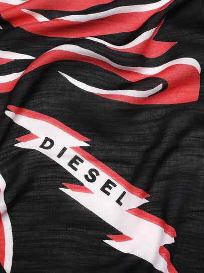 Diesel - SLUCAS, Black/Red - Scarf - Image 3