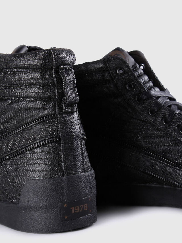 Diesel - D-STRING PLUS, Black Leather - Sneakers - Image 6