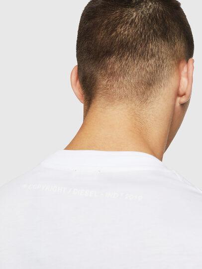 Diesel - T-LAZAREV, White - T-Shirts - Image 4