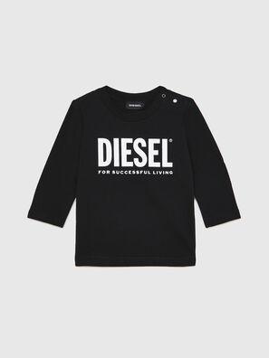 TJUSTLOGOB ML, Black - T-shirts and Tops