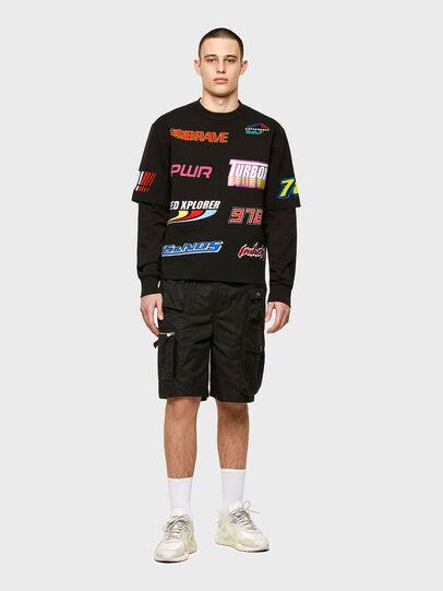 Diesel - K-JOHN, Black - Knitwear - Image 4